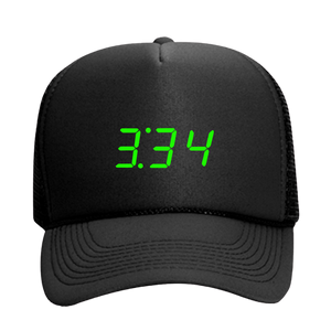 3:34 Trucker Black Hat