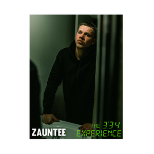 "Zauntee ""3:34"" Poster (Autographed or Unsigned)"