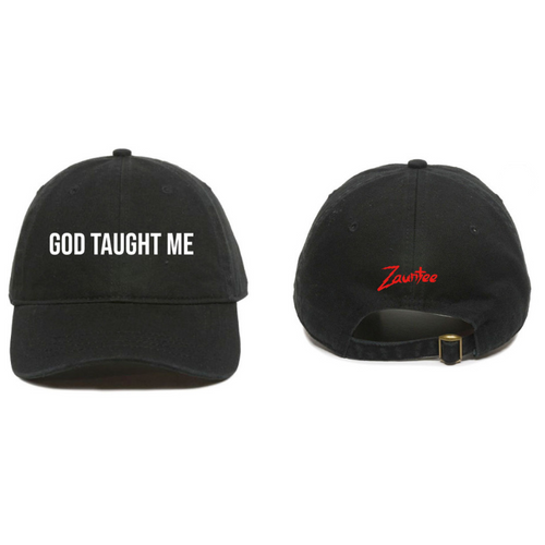 GOD TAUGHT ME - Dad Hat (black)