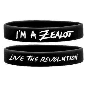 NEW Zealot - LIVE The REVOLUTION! Wristband