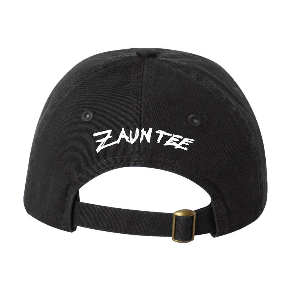 Black Dad Hat: Embroidered Designs by Zauntee