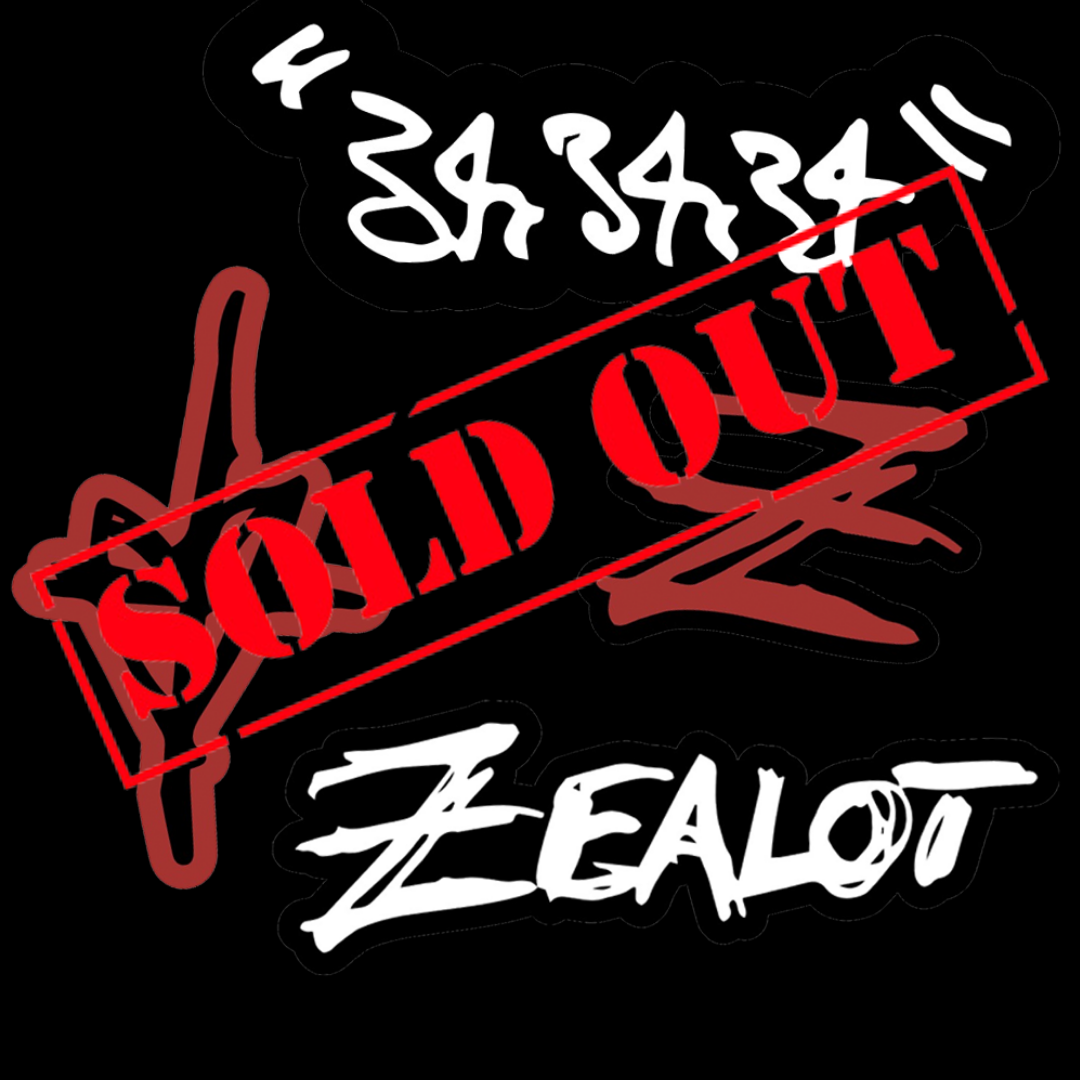 Zealot Sticker Pack: Sketched/Designed by Zauntee