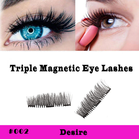 Sexy Triple Magnetic Lashes Style #002 Desire - SkinDeepExperience