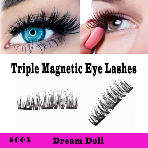 Chic Triple Magnetic Lashes Style #003 Dream Doll - SkinDeepExperience