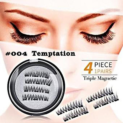 Attractive Triple Magnetic Lashes Style #004 Temptation - SkinDeepExperience