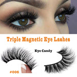 Stunning Triple Magnetic Lashes Style #006 Eye Candy - SkinDeepExperience