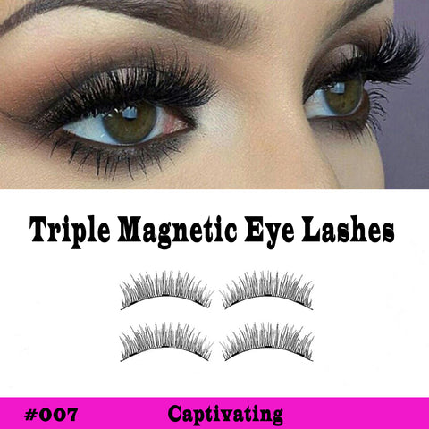 Foxy Triple Magnetic Lashes Style #007 Captivating - SkinDeepExperience