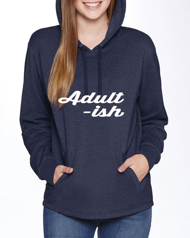 Adult-Ish Trend Setting Hooded Sweater - SkinDeepExperience