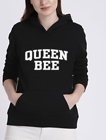 Queen Bee Trend Setting Hooded Sweater - SkinDeepExperience