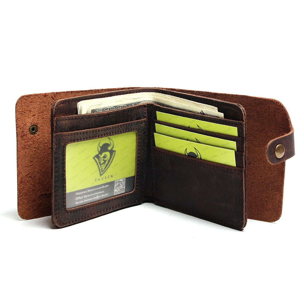 Salm - Handmade Leather Wallet