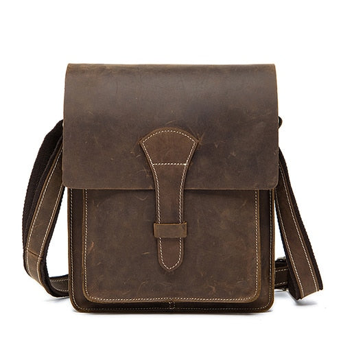 Altarf - Leather Crossbody Bag