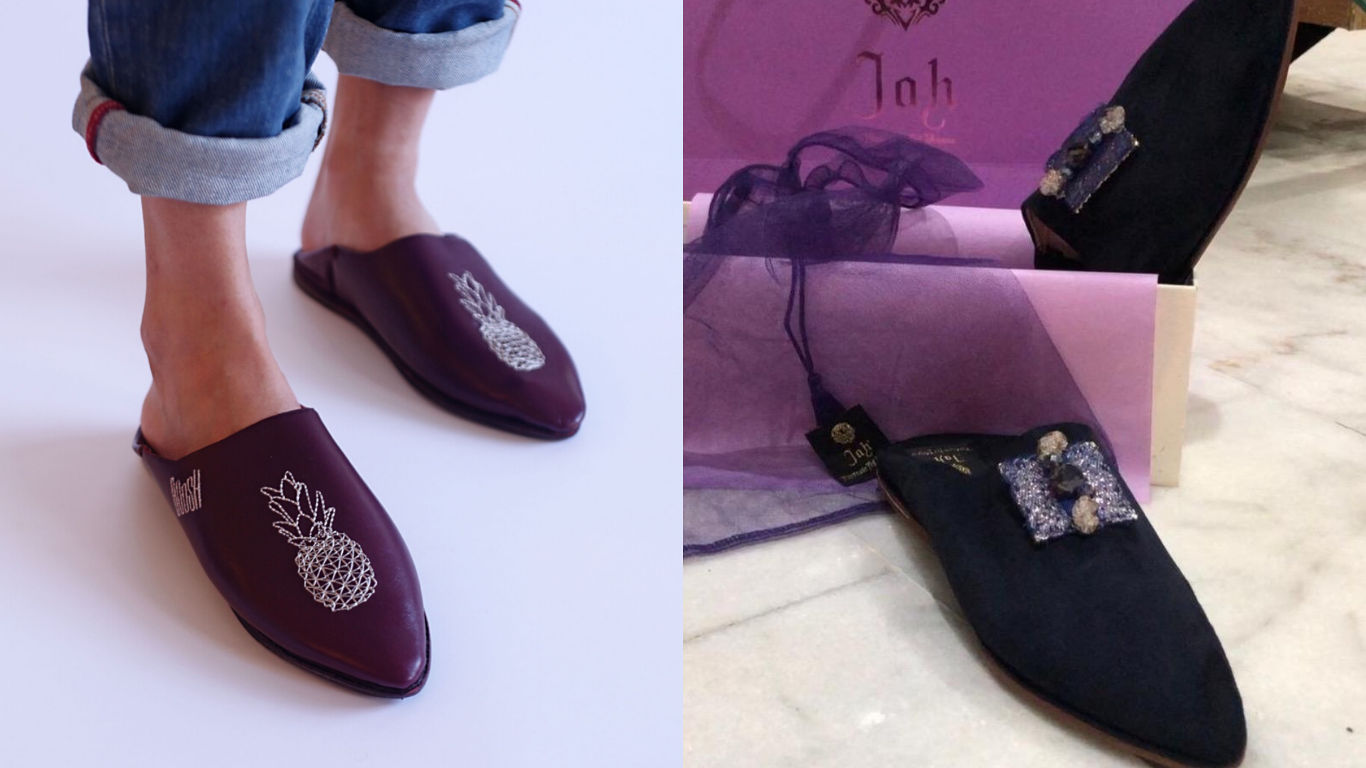 Moroccan clothes; Moroccan slippers; Moroccan Babouches; Moroccan footwear; Slippers; Leather slippers