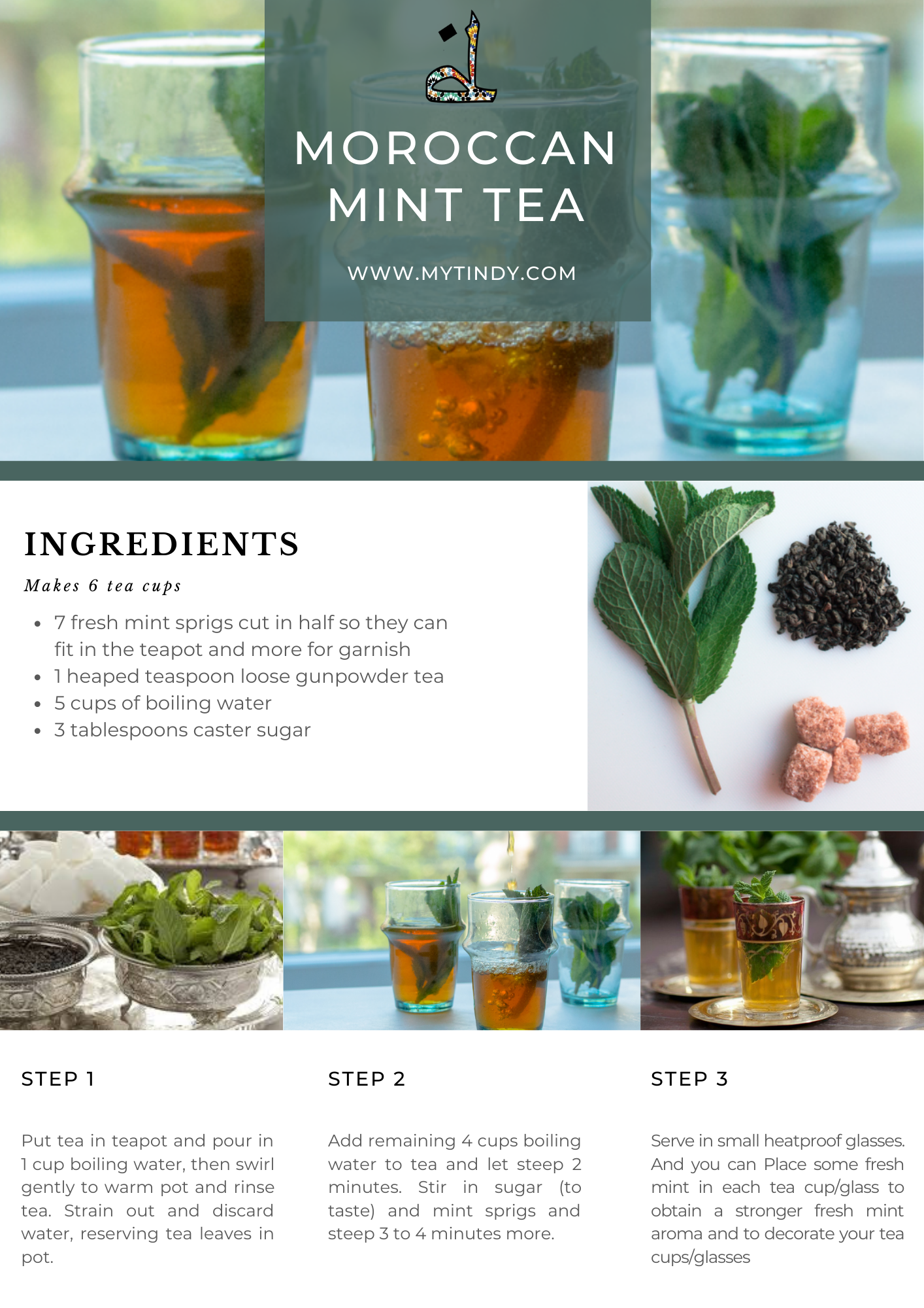 moroccan mint tea recipe
