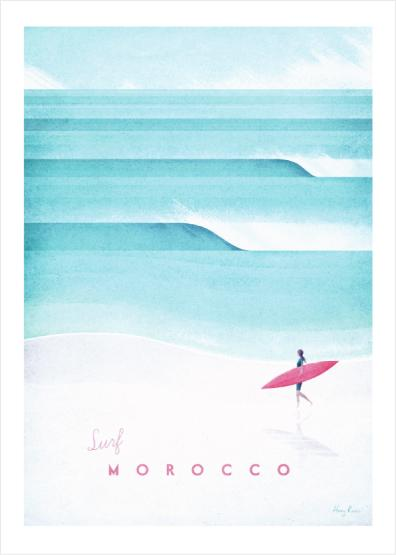 """Surf Morocco"" - Canva"