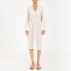 GENNA Off-White Lace Dress