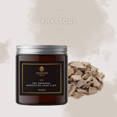 Moroccan Organic Lava Clay Rhassoul or Ghassoul