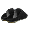 Jah Men Moroccan Slipper in Black Suede