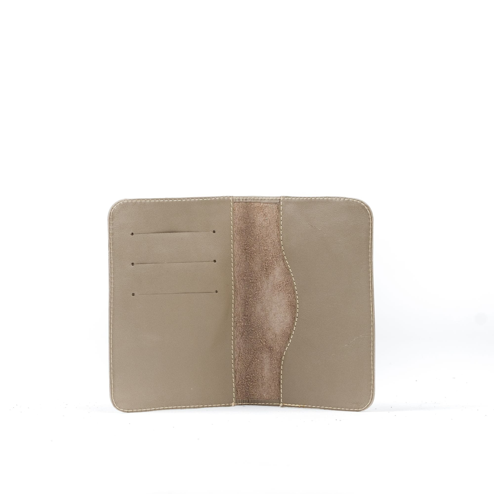 AHADUN Upcycled Leather Passport Cover