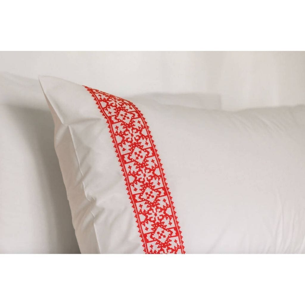 JOHARA MOROCCAN EMBROIDERED PILLOWCASES