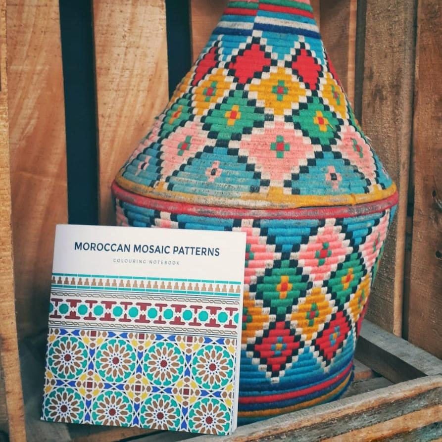 Mosaic Patterns Coloring Book
