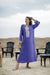 Purple Djellaba Moroccan Dress