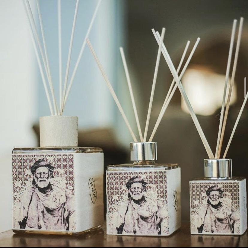 Fragrance Reed Diffuser (6Moroccan Scents) 500ml/18 oz