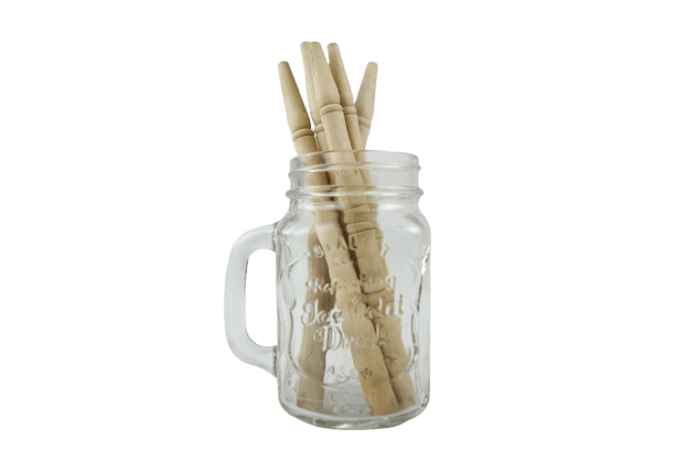 Reusable Wooden Straws