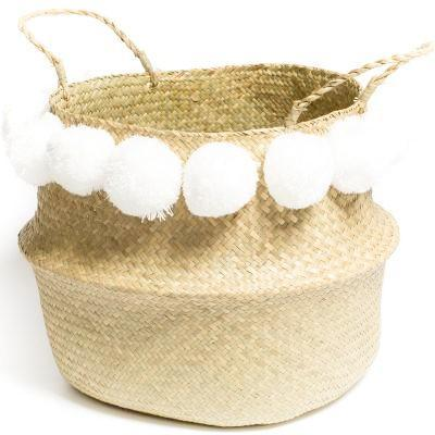 Ball and Pompom Basket