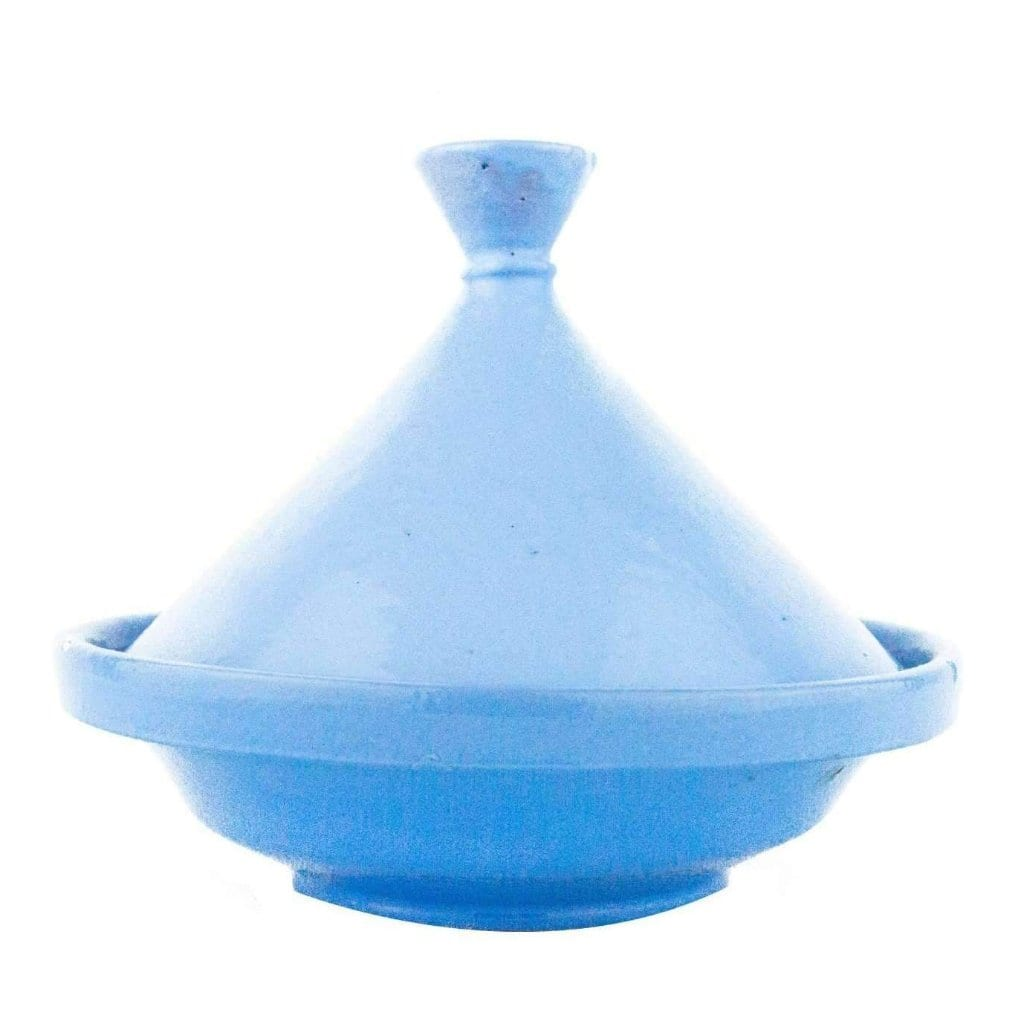 Moroccan Light Blue Terracotta Tagine