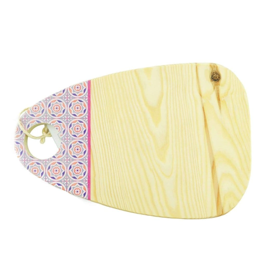 Oval Cutting Board in Red Wood - MyTindy