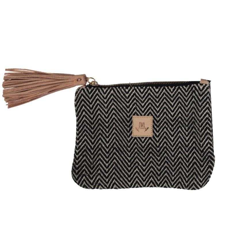 WOVEN Pouch Black