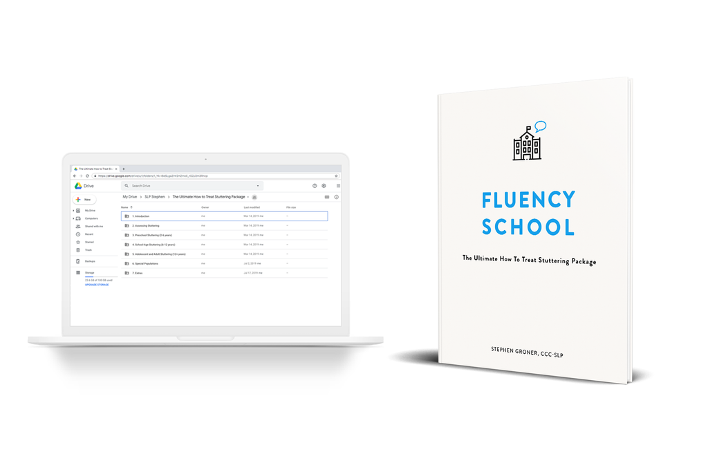 Fluency School: The Ultimate How to Treat Stuttering Package