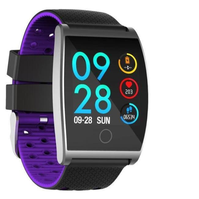 Blood Pressure Watch Bracelet - Be Healthy Every Time Any Where! - Purple