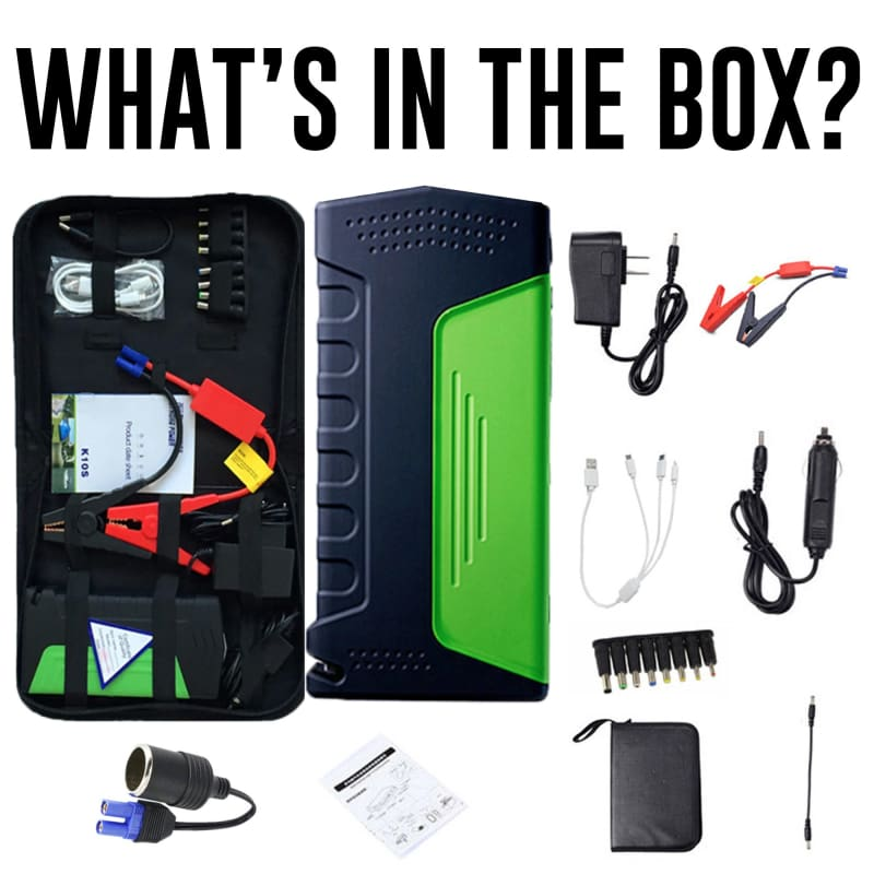 Car Rescue Jump Starter With Phone Charger