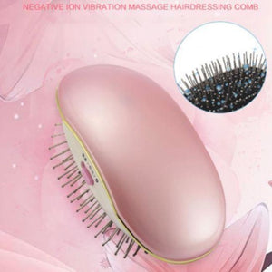 Electric Ionic Styling Hairbrush - Pink