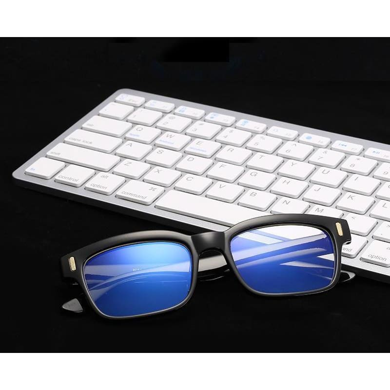 Gamma Rays - Crystal Clear Gaming Glasses With 100% Uv Protection