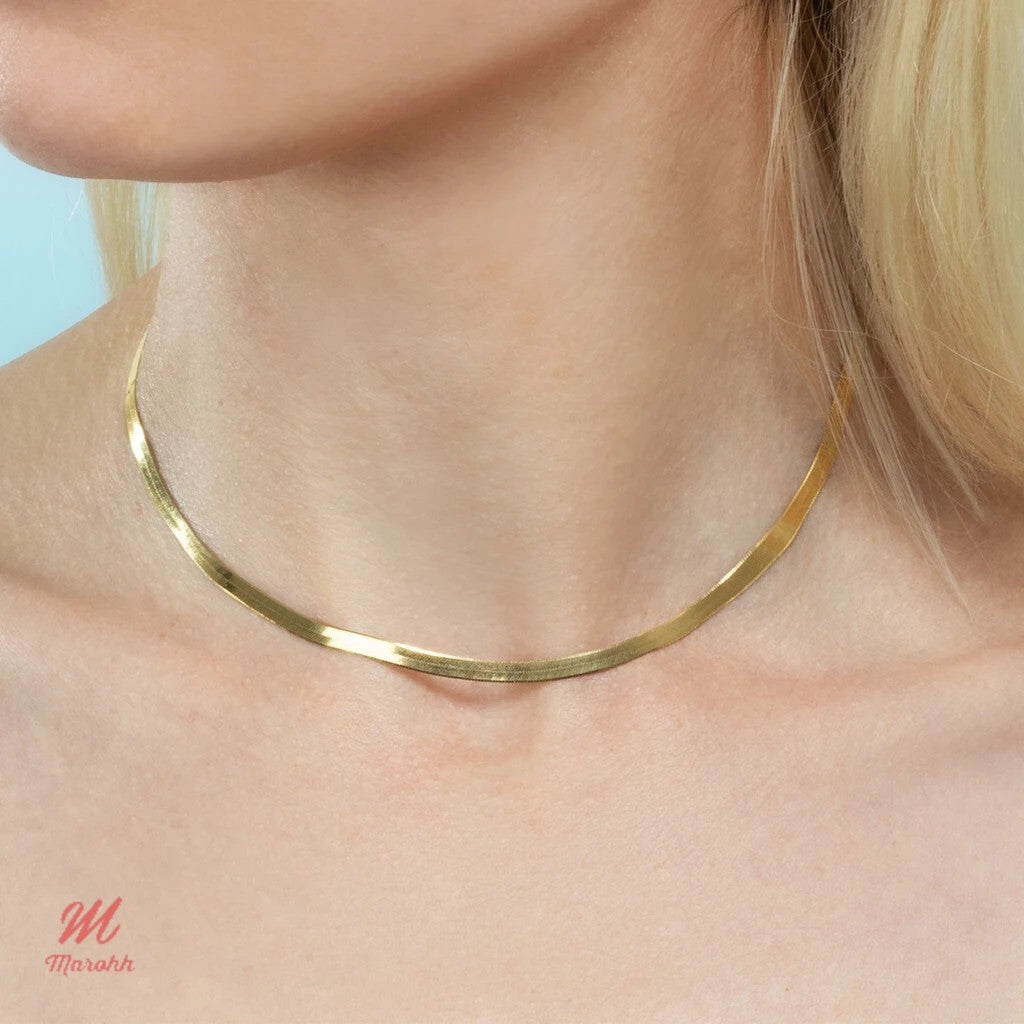 Isobel Chain Choker Necklace