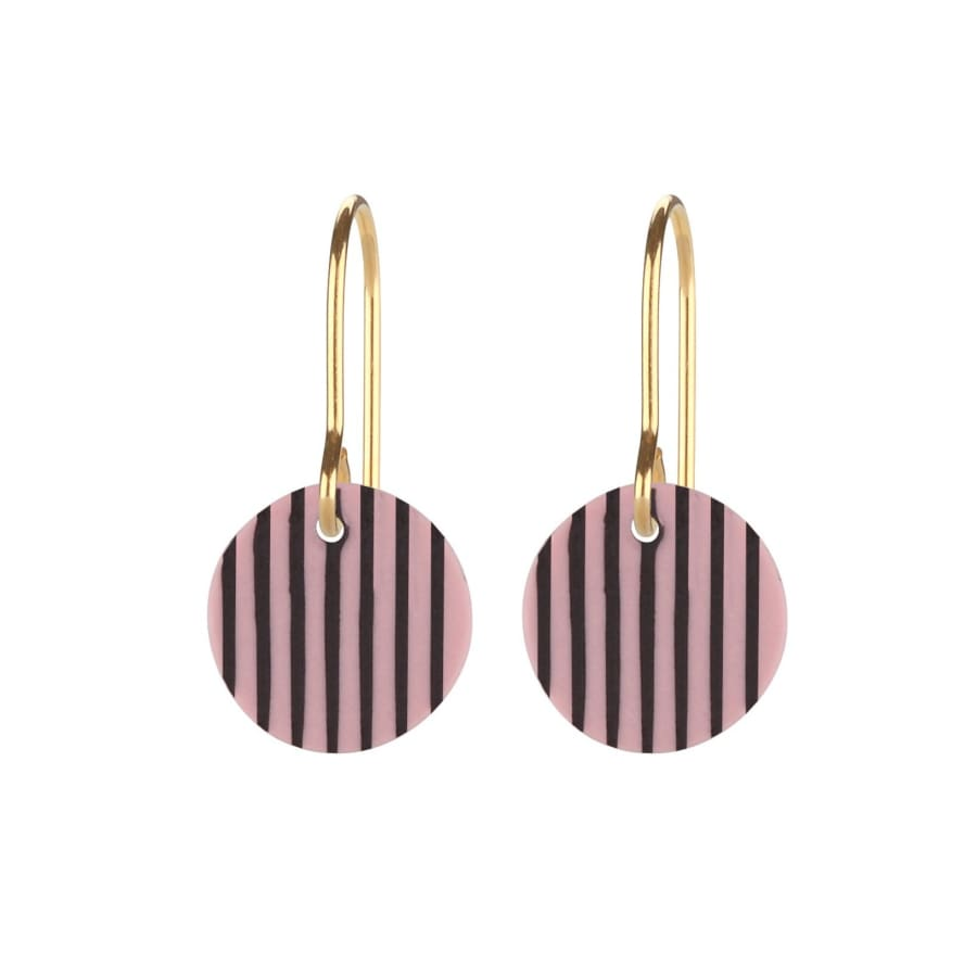STRIPES ROSA & BLACK