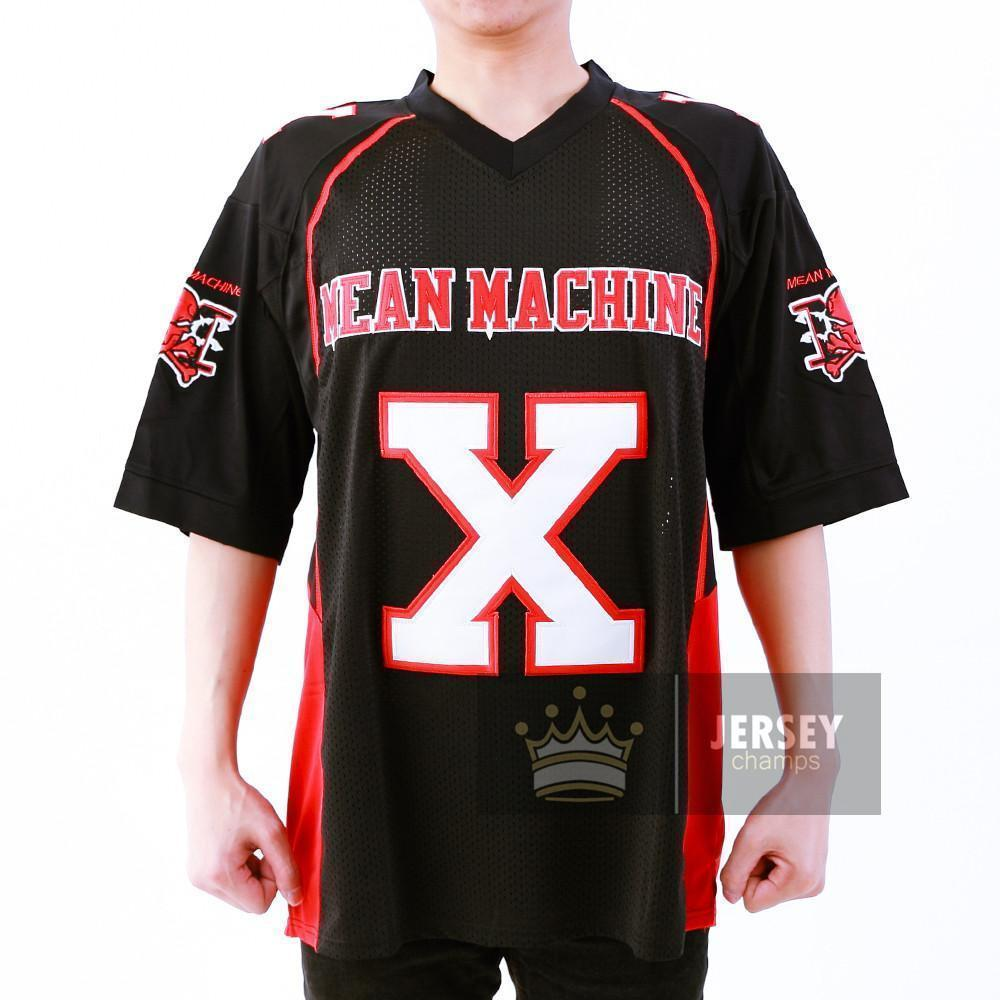 79bf77869 The Longest Yard Mean Machine Football Jersey Stitched - Jersey Champs -  Custom Basketball