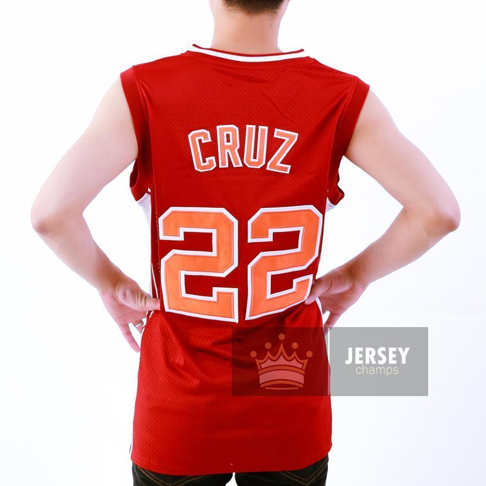 Timo Cruz Basketball Jersey - Jersey Champs - Custom Basketball, Baseball, Football & Hockey Jerseys