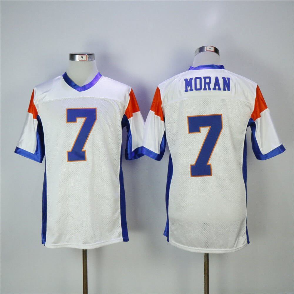 Alex Moran Blue Mountain State 7 Football Jersey - Jersey Champ c5aae06a65b7