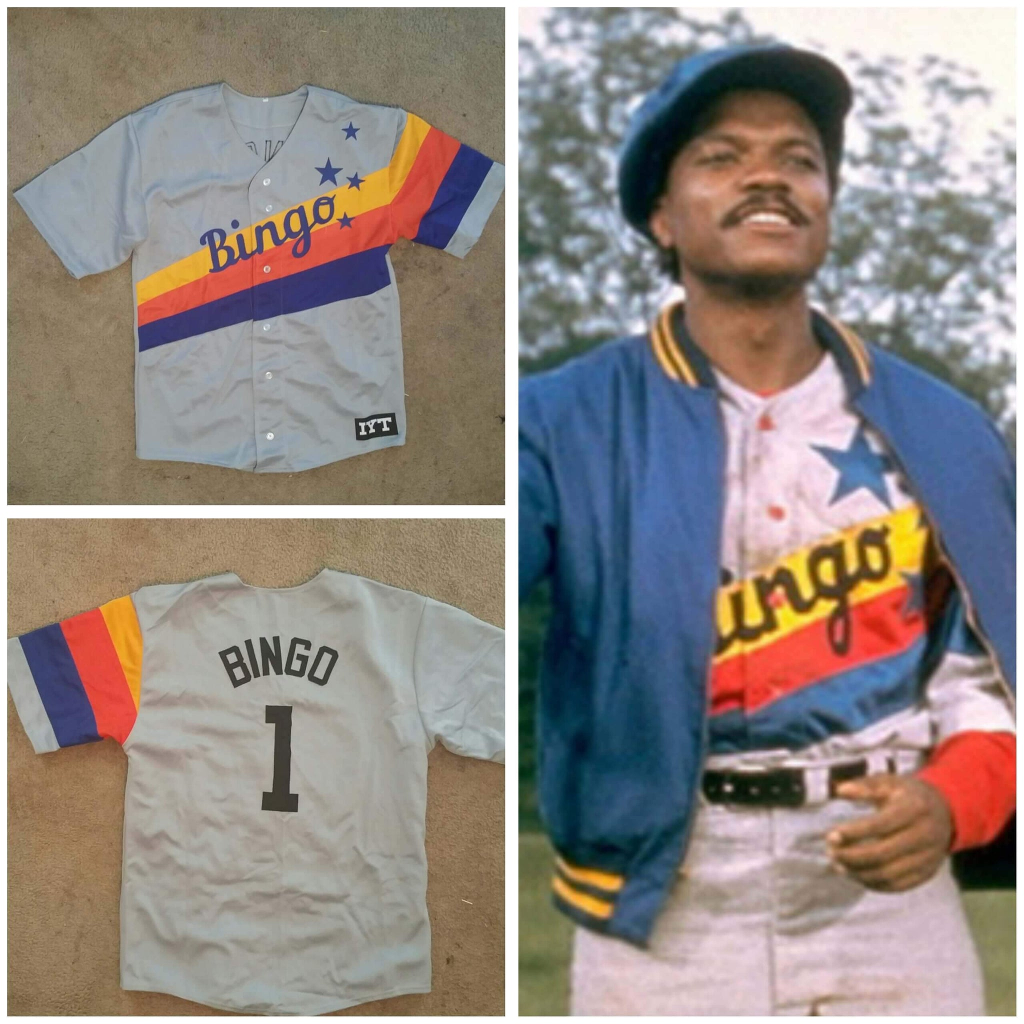 Bingo Long Traveling All Stars Baseball Jersey - Jersey Champs