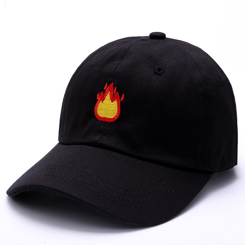 Fire Emoji Dad Hat