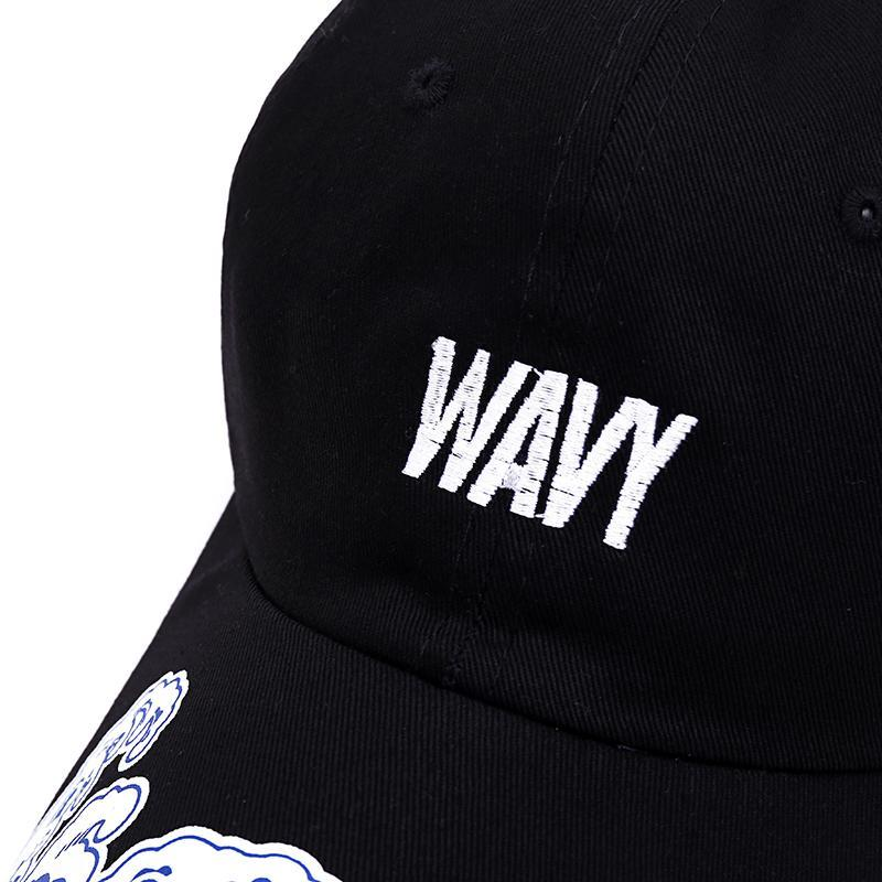 Wavy Dad Hat - Jersey Champs - Custom Basketball, Baseball, Football & Hockey Jerseys