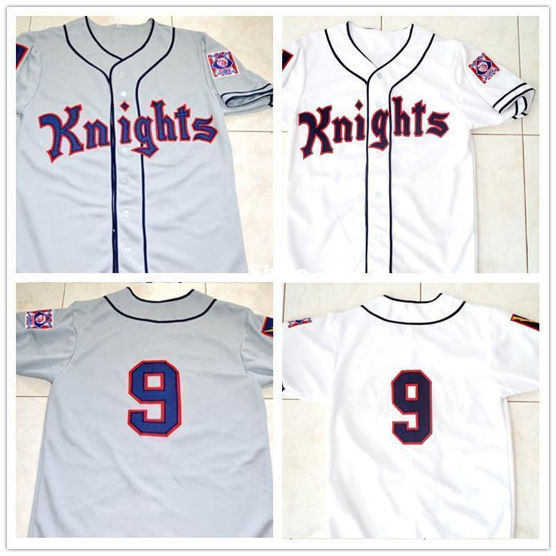 Roy Hobbs The Natural New York Knights Fully Stitched Baseball Jersey - Jersey Champs - Custom Basketball, Baseball, Football & Hockey Jerseys