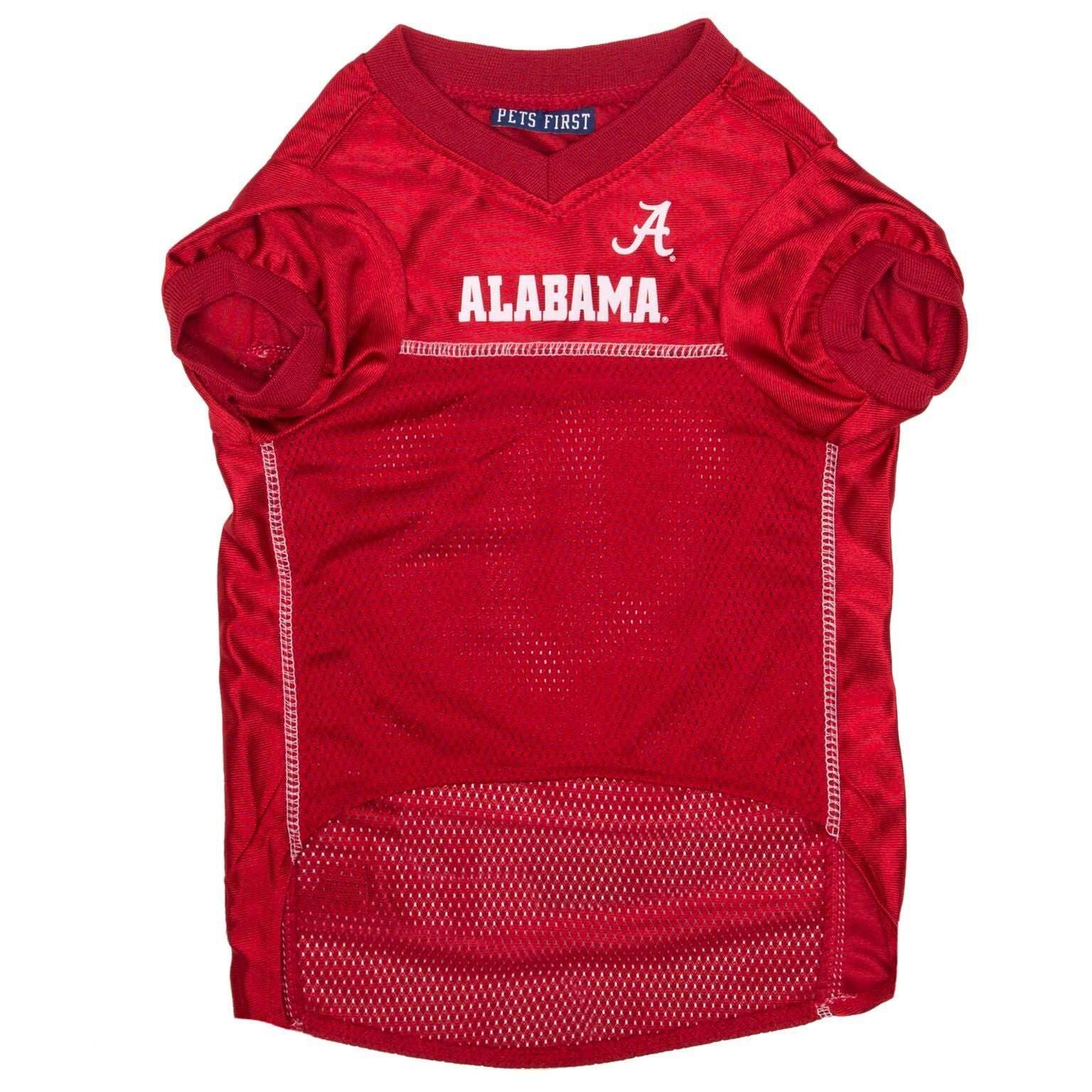 Alabama Crimson Tide Puppy Dog Football Jersey - Jersey Champs