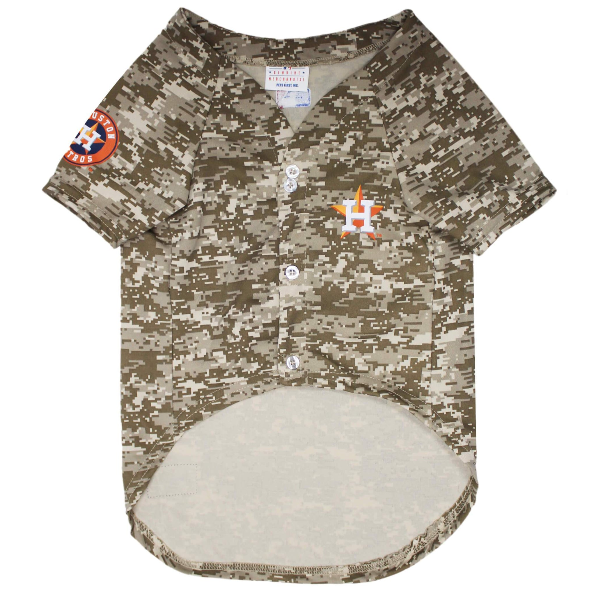 Houston Astros Camo Baseball Jersey