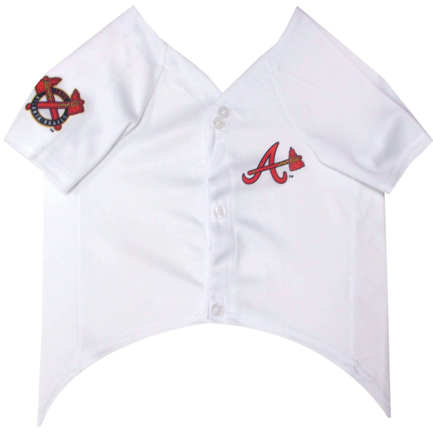 Atlanta Braves Puppy Dog Baseball Jersey - Jersey Champs