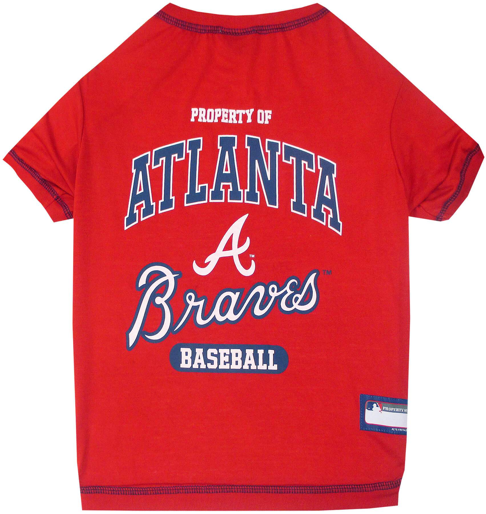 Atlanta Braves Dog Shirt - Jersey Champs
