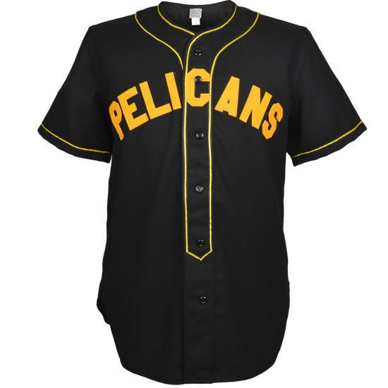 Berkeley Pelicans 1930 Road Stitched Baseball Jersey - Jersey Champs